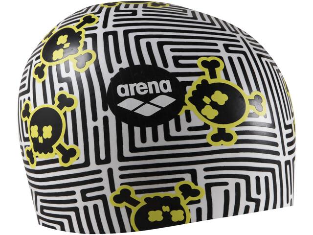 arena Poolish Moulded Gorra, negro/blanco